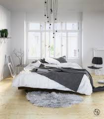 bedroom luxury scandinavian bedroom decor with painted wall