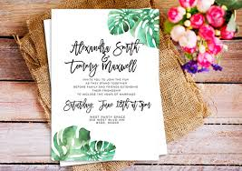 24 watercolor wedding invitations the overwhelmed