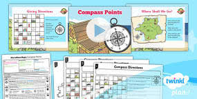 geography marvellous maps grid references year 5 lesson pack 4