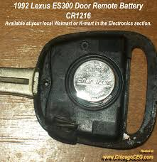 order lexus key 1992 remote key battery clublexus lexus forum discussion