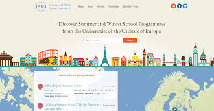Europe Capitals Map by Unica Winter Schools Unica Network Of Universities From The