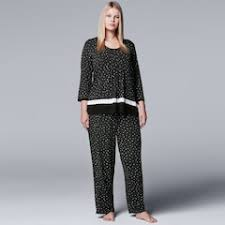 plus size pajamas sleepwear kohl s