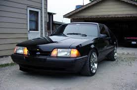 A Black Mustang Lincolns Of Distinction Rides Other Fords