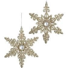 snowflake ornaments snowflakes polyvore