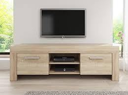 light wood tv stand tv unit cabinet stand rome light oak sonoma 160 cm search furniture