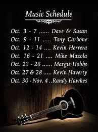 oct schedule cafe escadrille