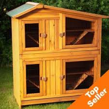 Double Decker Rabbit Hutch Space Saving Two Story Apartment Rabbit Hutch Double Rabbit Hutches