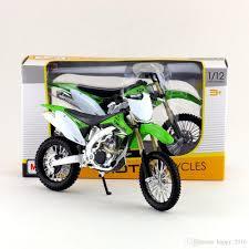 motocross toy bikes 2017 maisto 1 12 motorcycle japan kawasaki kx 450f green diecast