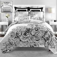 Twin Bedroom Sets Are They Beneficial Luxurious Black And White Comforter Set With A Good Style Of