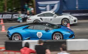 vs porsche 911 turbo lamborghini huracan stock vs porsche 991 turbo s stock