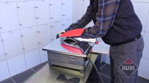 Ryobi Tile Saw Manual by Rubi Nd 180 Bl Electric Tile Cutter Nd 180 Bl Youtube