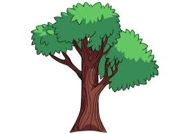 Tree Cartoon Tree With Branches Free Download Clip Art Free Clip