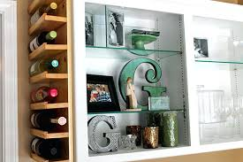 Kitchen Cabinet Wine Rack Ideas Wine Rack Cabinets With Wine Racks Built In Kitchen Cabinet Wine