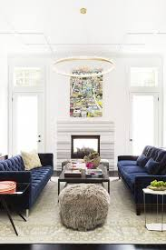 Navy Blue Tufted Sofa Reputable With Room Blue Velvet Sofas Along With Blue Sofas On