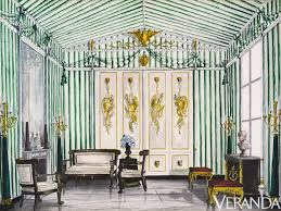 Veranda Interior Design by Remembering Albert Hadley
