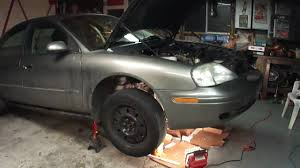 mercury sable ford taurus coolant leak oil leak repair youtube