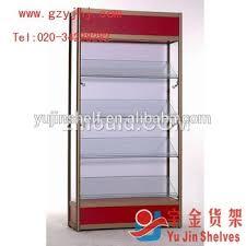 lockable glass display cabinet showcase 2018 new style sale durable and lockable glass display cabinet