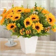 Sunflower Home Decor Popular Sunflower Wedding Decoration Buy Cheap Sunflower Wedding