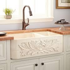 Granite Kitchen Sinks Sinks Double Farmhouse Sink With Backsplash Lowes Farmhouse Sinks
