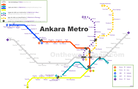 Metro Los Angeles Map by Ankara Metro Map