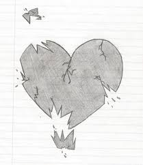 heart sketches in pencil pencil art drawing
