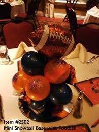 Football Banquet Centerpiece Ideas by Football Centerpieces For Your Tables Lighterthanair Football