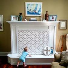 fireplace baby proofing here is my quick solution to keep my newly crawling baby out