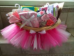 baby shower tutu gift basket diy from my craft room pinterest