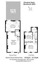 property for sale eltringham street london sw18 2 bedroom