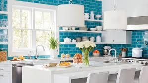 white kitchen cabinets with aqua backsplash 7 bold backsplash ideas for your boring white kitchen