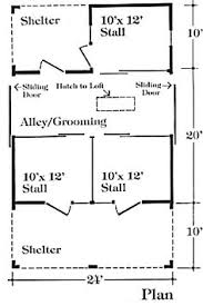 Small Barn Plans 3 Stall Horse Barn Plan Barn Ideas Pinterest Horse Barn