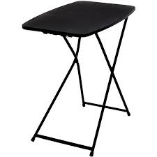 average card table size mainstays personal table black walmart com