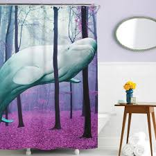 Unique Shower Curtains 10 Cool Shower Curtains For Animal Lovers