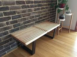 Outdoor Modern Bench Make It Mid Century Modern Bench 15 Steps With Pictures