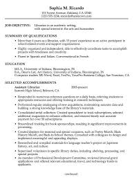Warehouse Manager Resume Examples by Librarian Cover Letter Example Of Cover Letter For Resume
