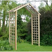 storemore atlas arch trellis lattice panels fsc timber pressure treat