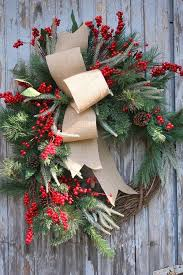 Decorating Pine Christmas Wreaths by Home Decor 25 Christmas Wreath Ideas Messagenote
