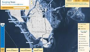 40 Meters To Feet What Does U S Look Like With 10 Feet Of Sea Level Rise Climate