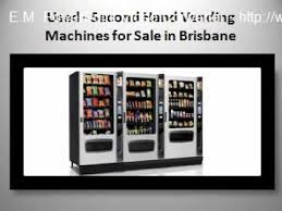 used second vending machines for sale in brisbane the