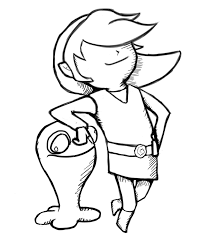 toon link sketch by happy cheesecake on deviantart