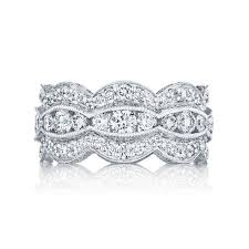 tacori wedding bands tacori ht2616b adoration platinum lace eternity band
