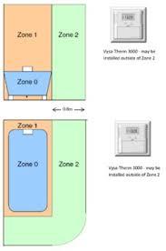 bathroom underfloor heating thermostat bathrooms vysal underfloor heating