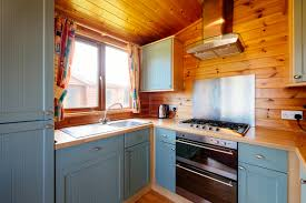 Lodge Kitchen by Holiday Lodges Calloose Caravan U0026 Camping Park