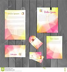 Business Letterhead Design Vector Business Card Letterhead Template Stock Image Image 19037711
