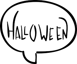 halloween chat speech bubble svg png icon free download 55674