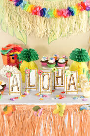 hawaiian luau ideas squared