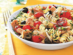 pasta salad with tuna pasta salad with tuna olives and parsley recipe myrecipes