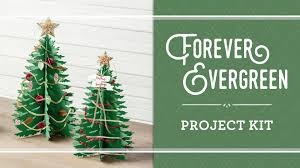 forever evergreen project kit by stampin u0027 up stampin u0027 up