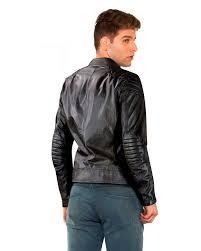 black leather biker jacket slim fit leather jacket for mens online u2013 leatherright
