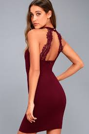 bodycon dress plum purple dress bodycon dress lace dress